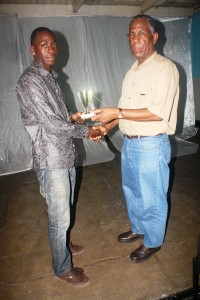 Shimon Gayle Boxer of the year